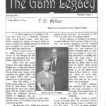 The cover of one of the Gann Museum Newsletter. (Click to Enlarge Image)